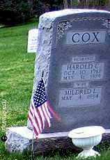 COX, MILDRED L. - Washington County, Ohio | MILDRED L. COX - Ohio Gravestone Photos