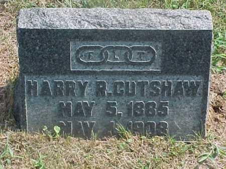 CUTSHAW, HARRY - Washington County, Ohio | HARRY CUTSHAW - Ohio Gravestone Photos