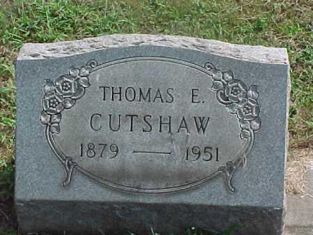 CUTSHAW, THOMAS - Washington County, Ohio   THOMAS CUTSHAW - Ohio Gravestone Photos