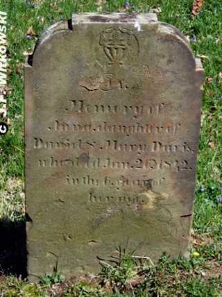 DAVIS, ANNA - Washington County, Ohio   ANNA DAVIS - Ohio Gravestone Photos