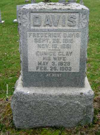 DAVIS, EUNICE - Washington County, Ohio   EUNICE DAVIS - Ohio Gravestone Photos