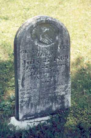 DAVIS, GEORGE S. - Washington County, Ohio   GEORGE S. DAVIS - Ohio Gravestone Photos