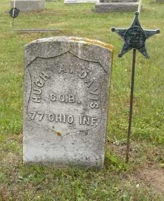 DAVIS, HUGH - Washington County, Ohio | HUGH DAVIS - Ohio Gravestone Photos