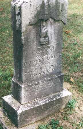 MITCHELL DAVIS, JOANA H. - Washington County, Ohio | JOANA H. MITCHELL DAVIS - Ohio Gravestone Photos