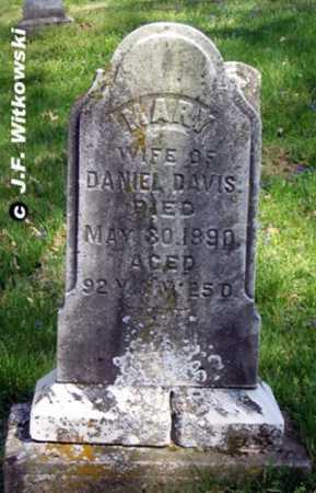 """DAVIS, MARY """"POLLY"""" - Washington County, Ohio   MARY """"POLLY"""" DAVIS - Ohio Gravestone Photos"""