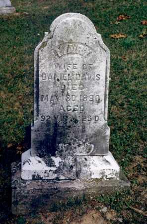 DUTTON DAVIS, MARY [POLLY] - Washington County, Ohio | MARY [POLLY] DUTTON DAVIS - Ohio Gravestone Photos