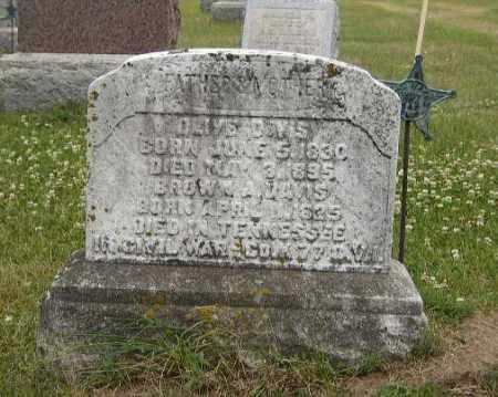 DAVIS, OLIVE - Washington County, Ohio | OLIVE DAVIS - Ohio Gravestone Photos