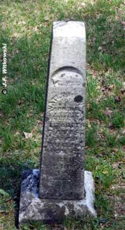 DAVIS, WATERMAN - Washington County, Ohio   WATERMAN DAVIS - Ohio Gravestone Photos