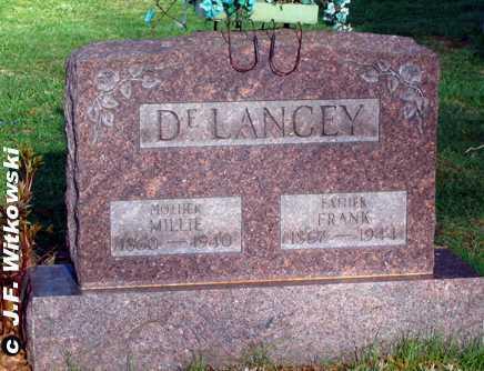 DELANCEY, FRANK - Washington County, Ohio | FRANK DELANCEY - Ohio Gravestone Photos