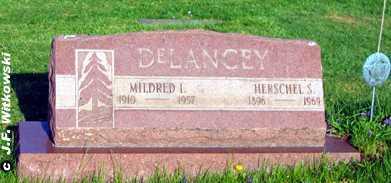 DELANCEY, MILDRED I. - Washington County, Ohio | MILDRED I. DELANCEY - Ohio Gravestone Photos