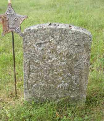DEVOL, JOHN - Washington County, Ohio | JOHN DEVOL - Ohio Gravestone Photos