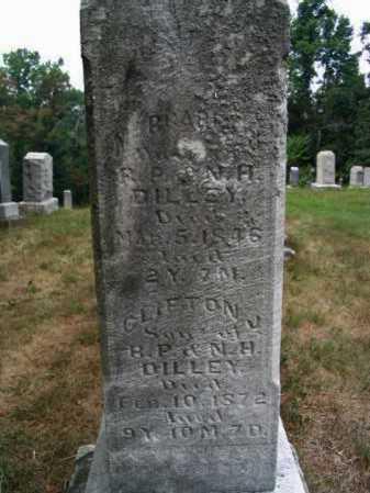 DILLEY, CLIFTON J. - Washington County, Ohio | CLIFTON J. DILLEY - Ohio Gravestone Photos