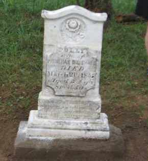 GAGE DUNSMOOR, POLLY - Washington County, Ohio   POLLY GAGE DUNSMOOR - Ohio Gravestone Photos
