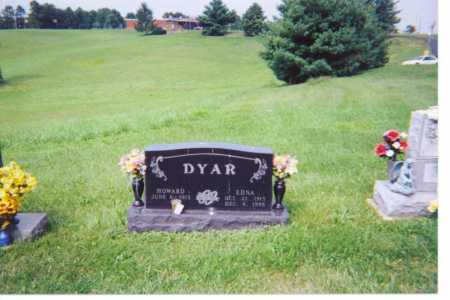 DYAR, EDNA - Washington County, Ohio | EDNA DYAR - Ohio Gravestone Photos