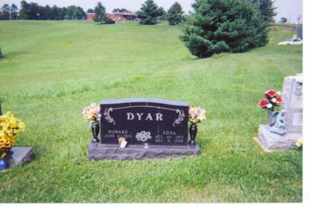 CHRISTY DYAR, EDNA - Washington County, Ohio | EDNA CHRISTY DYAR - Ohio Gravestone Photos