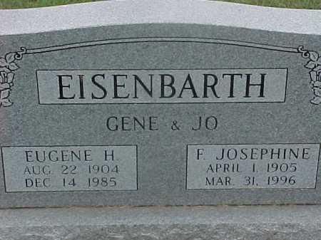 MCKENNA EISENBARTH, FLORENCE JOSEPHINE - Washington County, Ohio | FLORENCE JOSEPHINE MCKENNA EISENBARTH - Ohio Gravestone Photos