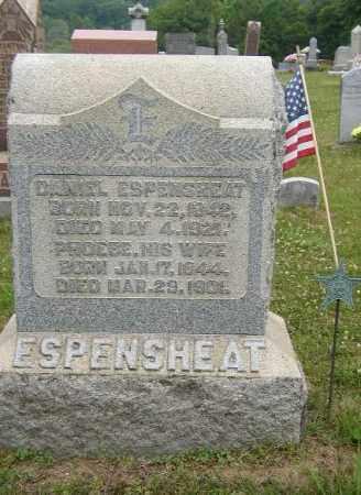 ESPENSHEAT, DANIEL - Washington County, Ohio   DANIEL ESPENSHEAT - Ohio Gravestone Photos