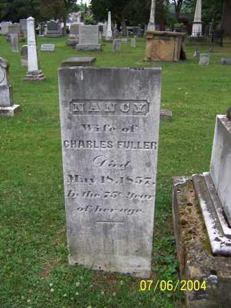 FULLER, NANCY - Washington County, Ohio   NANCY FULLER - Ohio Gravestone Photos
