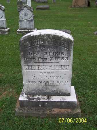 FULLER, REUBEN - Washington County, Ohio | REUBEN FULLER - Ohio Gravestone Photos