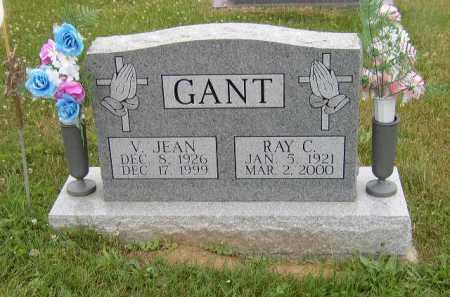 GOSSETT GANT, JEAN - Washington County, Ohio | JEAN GOSSETT GANT - Ohio Gravestone Photos