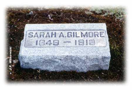 STEPHENS DOBBINS GILMORE, SARAH ANN - Washington County, Ohio | SARAH ANN STEPHENS DOBBINS GILMORE - Ohio Gravestone Photos