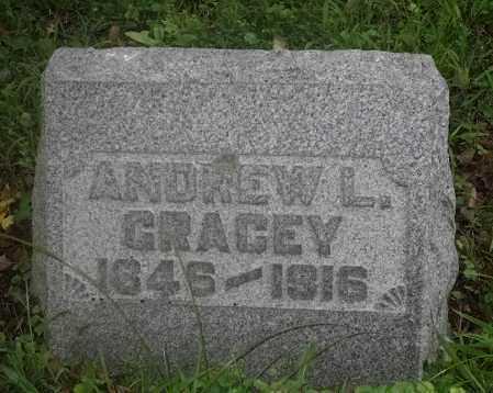 GRACEY, ANDREW L. - Washington County, Ohio | ANDREW L. GRACEY - Ohio Gravestone Photos