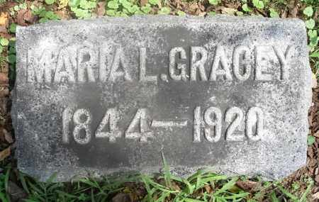 GRACEY, MARIA L. - Washington County, Ohio | MARIA L. GRACEY - Ohio Gravestone Photos