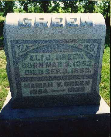 SMITH GREEN, MARIAH VIOLA - Washington County, Ohio | MARIAH VIOLA SMITH GREEN - Ohio Gravestone Photos