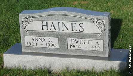 HAINES, DWIGHT A. - Washington County, Ohio | DWIGHT A. HAINES - Ohio Gravestone Photos
