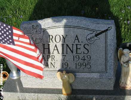 HAINES, ROY A. - Washington County, Ohio | ROY A. HAINES - Ohio Gravestone Photos