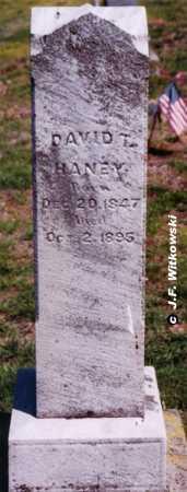 HANEY, DAVID THOMAS - Washington County, Ohio | DAVID THOMAS HANEY - Ohio Gravestone Photos