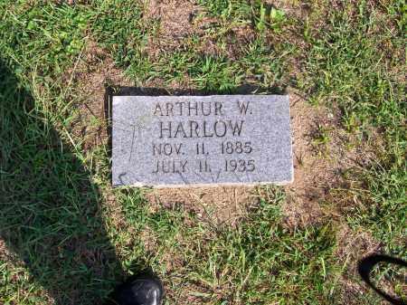 HARLOW, ARTHUR W - Washington County, Ohio   ARTHUR W HARLOW - Ohio Gravestone Photos