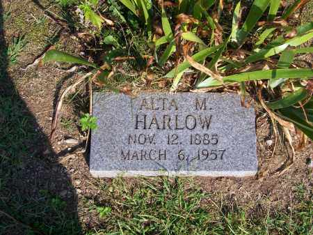 HARLOW, ALTA  M - Washington County, Ohio | ALTA  M HARLOW - Ohio Gravestone Photos