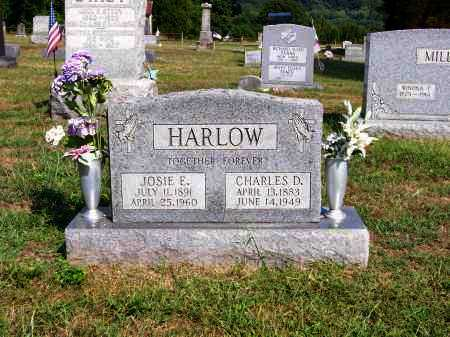 HARLOW, CHARLES D - Washington County, Ohio | CHARLES D HARLOW - Ohio Gravestone Photos