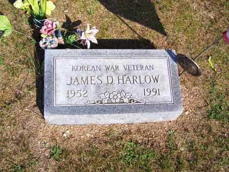 HARLOW, JAMES D - Washington County, Ohio | JAMES D HARLOW - Ohio Gravestone Photos