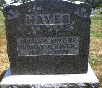 HAYES, SHIRLEY - Washington County, Ohio | SHIRLEY HAYES - Ohio Gravestone Photos