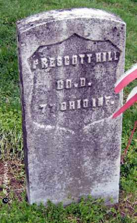 HILL, PRESCOTT - Washington County, Ohio | PRESCOTT HILL - Ohio Gravestone Photos