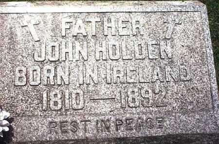 HOLDEN, JOHN EDWIN - Washington County, Ohio | JOHN EDWIN HOLDEN - Ohio Gravestone Photos