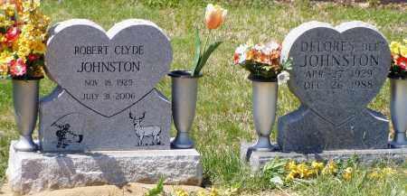 JOHNSTON, ROBERT CLYDE - Washington County, Ohio | ROBERT CLYDE JOHNSTON - Ohio Gravestone Photos
