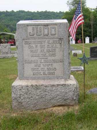 BRABHAM JUDD, SARAH - Washington County, Ohio | SARAH BRABHAM JUDD - Ohio Gravestone Photos