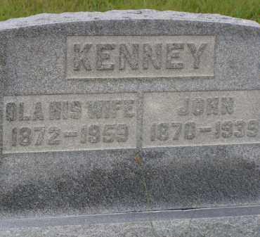 KENNEY, OLA - Washington County, Ohio | OLA KENNEY - Ohio Gravestone Photos