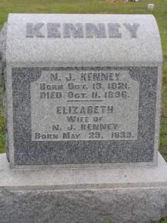KENNEY, N. J. - Washington County, Ohio   N. J. KENNEY - Ohio Gravestone Photos
