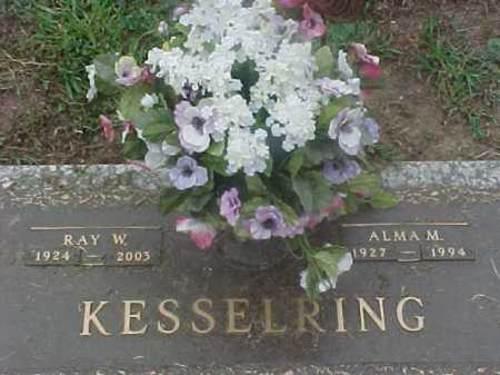 PARKS KESSELRING, ALMA - Washington County, Ohio | ALMA PARKS KESSELRING - Ohio Gravestone Photos