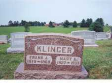 KLINGER, MARY A - Washington County, Ohio | MARY A KLINGER - Ohio Gravestone Photos