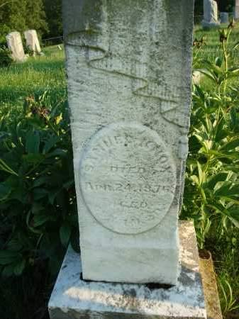 KNOX, SAMUEL - Washington County, Ohio | SAMUEL KNOX - Ohio Gravestone Photos