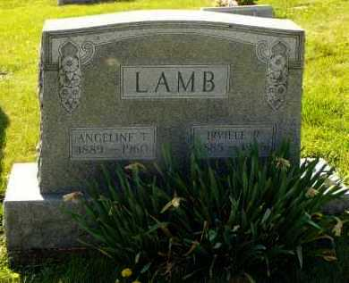 THOMPSON LAMB, ANGELINE - Washington County, Ohio | ANGELINE THOMPSON LAMB - Ohio Gravestone Photos