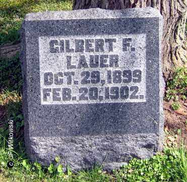 LAUER, GILBERT F. - Washington County, Ohio | GILBERT F. LAUER - Ohio Gravestone Photos