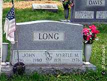 LONG, MYRTLE M. - Washington County, Ohio | MYRTLE M. LONG - Ohio Gravestone Photos