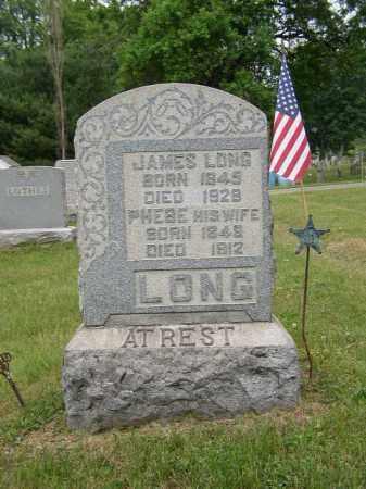 LONG, PHEBE - Washington County, Ohio | PHEBE LONG - Ohio Gravestone Photos