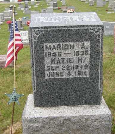 LONGLEY, MARION - Washington County, Ohio | MARION LONGLEY - Ohio Gravestone Photos